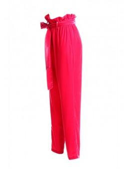 Pantalón de terciopelo rosa Denny Rose