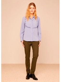 Camisa azul Reiko