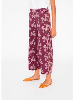 Pantalón estampado terciopelo Silvian Heach