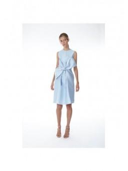 Vestido azul lazo  2nd LAB