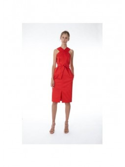 Vestido rojo 2nd LAB