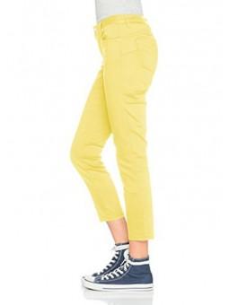 Pantalón pitillo amarillo Silvian Heach
